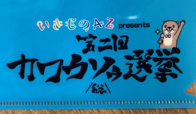 【サンシャイン水族館オリジナル】第二回カワウソゥ選挙オリジナルクリアファイル