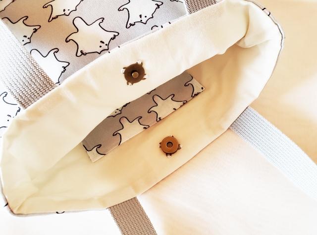 エゾモモンガのトートバッグ