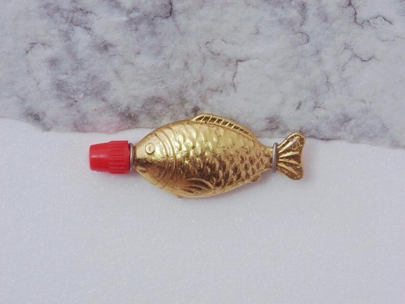 Golden Fish(ブローチ)