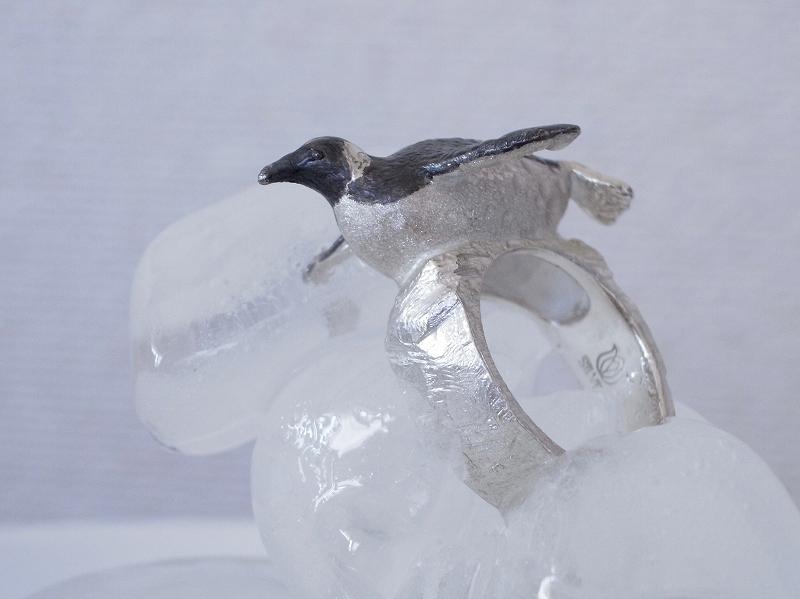 キングペンギンのリング(指輪)