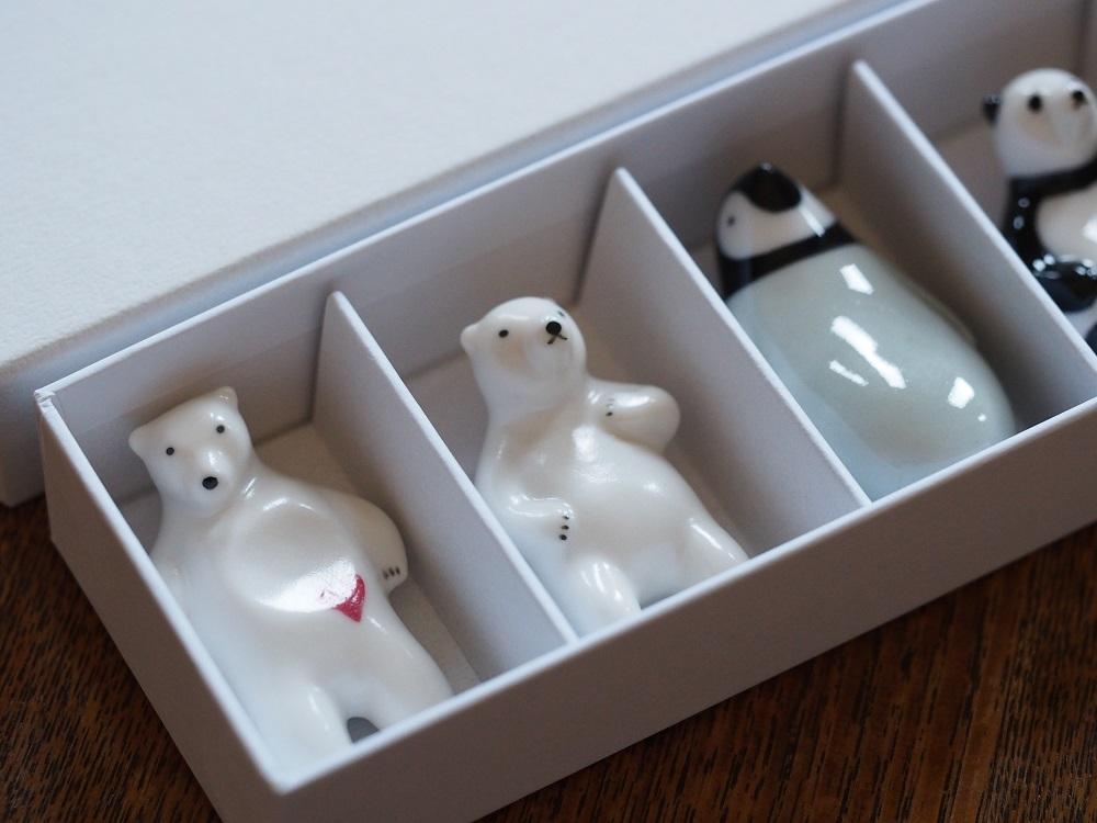 アソート箸置き5個set (+Panda)