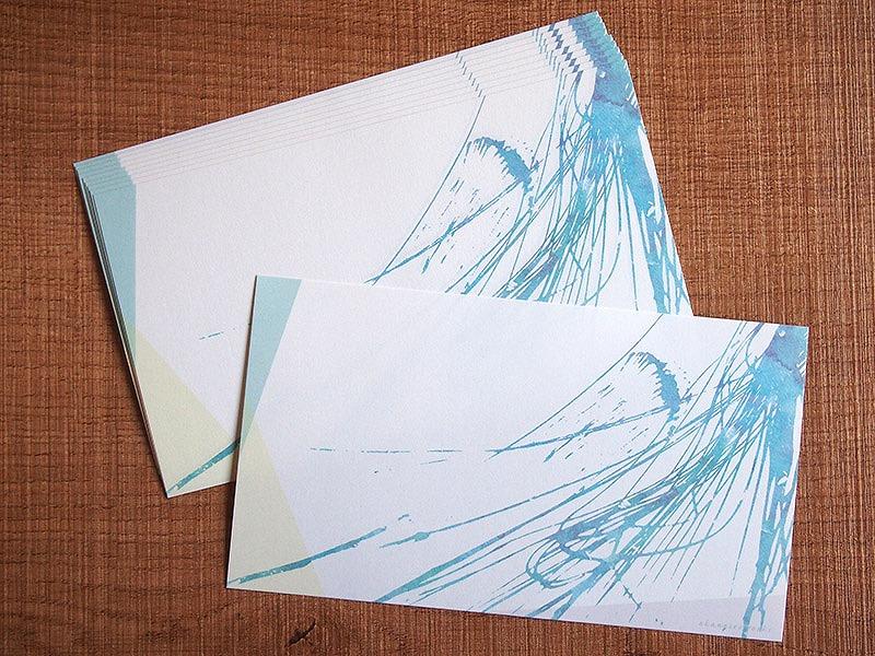 【いきもーる限定販売】ニジイロイッピツセン「クラゲ/blue」