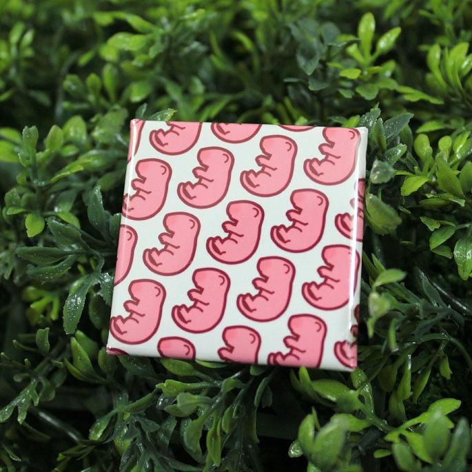 ピンクマウス缶バッチ(タイプE)