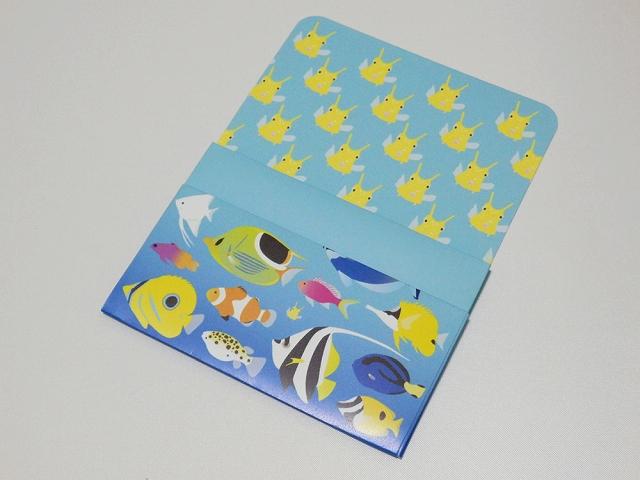 ペーパーカードケース 熱帯魚