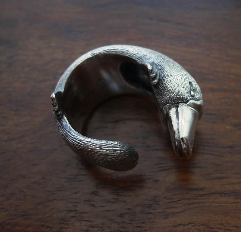 カモノハシのリング