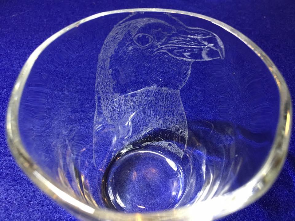 【いきもーる限定販売】グラス(小)ケープペンギン