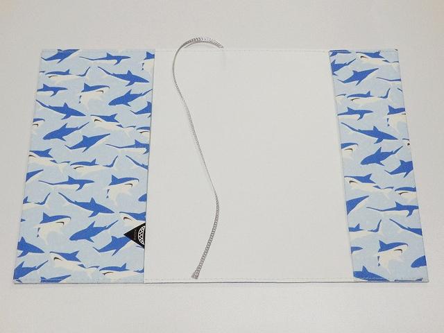 文庫本カバー サメ