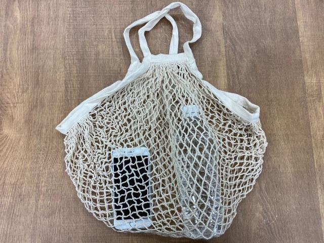 【いきもーる限定販売】カイロウドウケツ巾着袋(ネットバッグ付き)