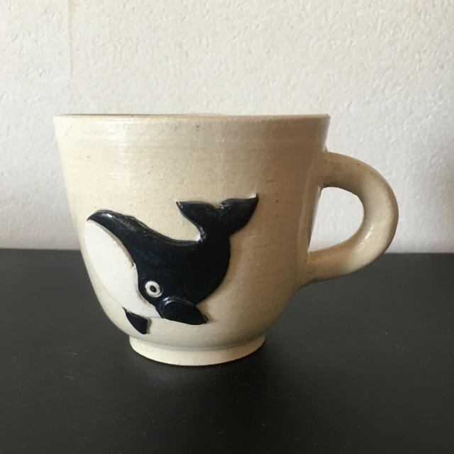 クジラマグカップ