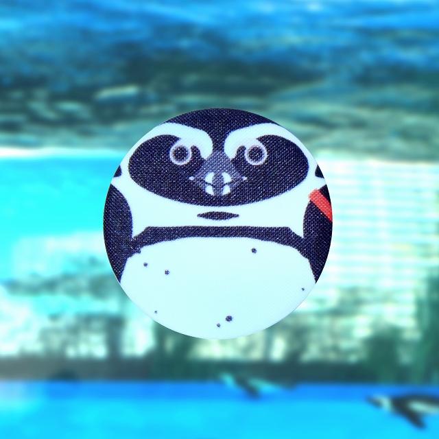 【いきもーる限定販売】とり缶ばっち ケープペンギン