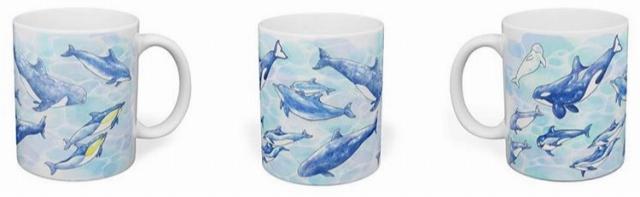 イルカのマグカップ