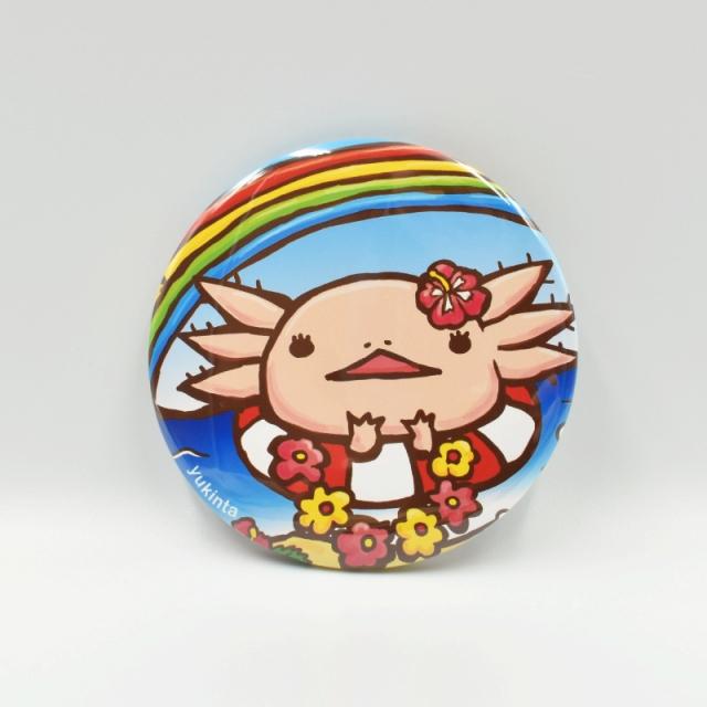 ウーパーちゃんハンドミラー(ハワイアン)