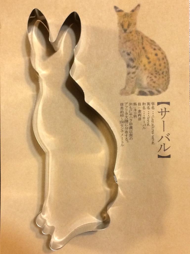 サーバル(ステンレス抜き型)