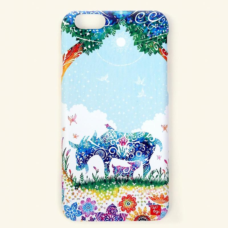 [ヤギの親子]iPhoneカバー