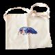 オオアリクイのホネ刺繍キャンバスサコッシュ