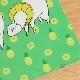 クリアファイル(パイナップルと戯れるアルパカ)