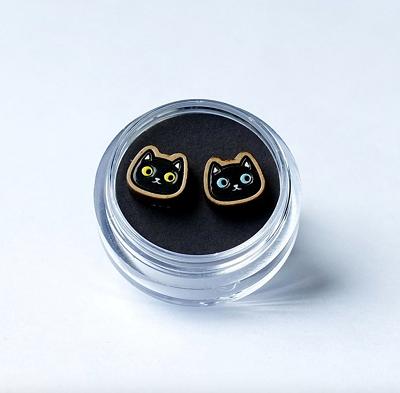 ネコ(黒)