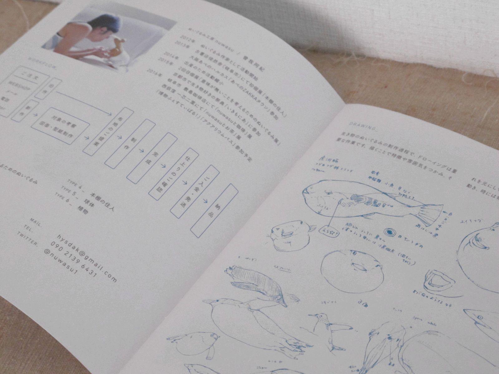 ぬいぐるみ カタログ(ぬいぐるみ工房nuwasu)