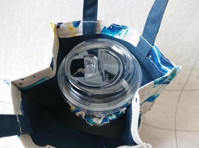 【いきもーる限定販売】 Take out Bag / くじら(blue green)