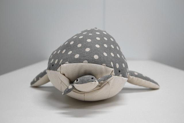 水玉ジンベエザメ(ぬいぐるみ)