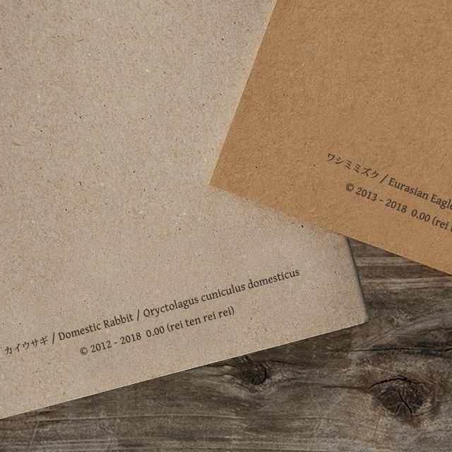 再生紙ノート ウサギ