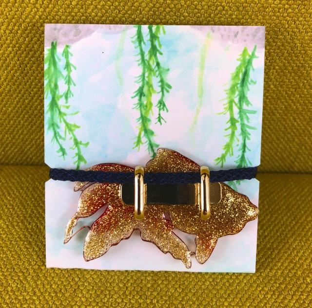 金魚*帯留め(全3種)
