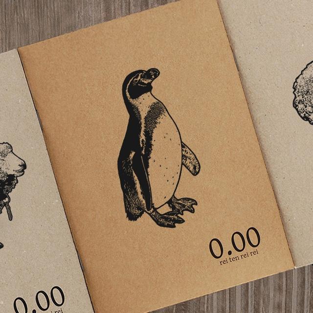 再生紙ノート ペンギン