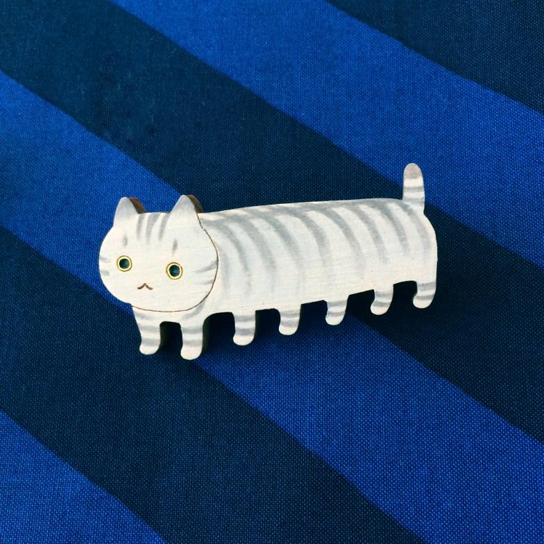 【いきもーる限定販売】パノラマ猫 サバ