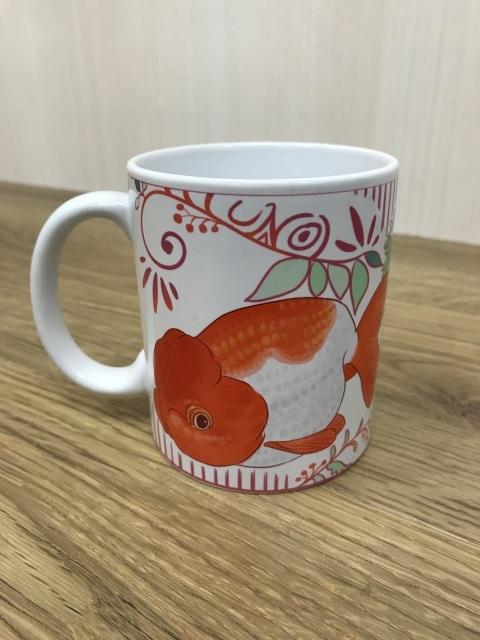 宇野系らんちゅうのマグカップ