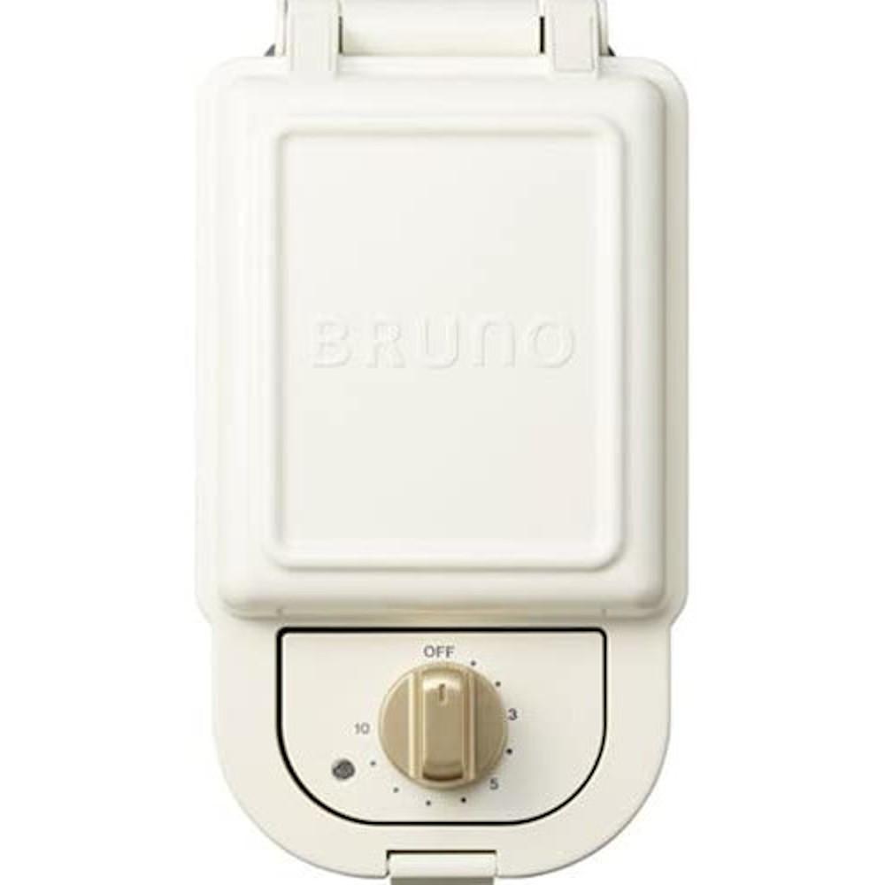 【BRUNO】ホットサンドメーカー 耳まで焼ける 電気 シングル BOE043 ブルーノ