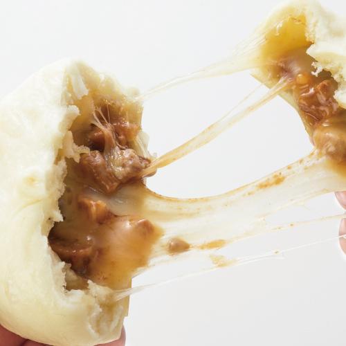 モッツァレラ叉焼まん(5個入)