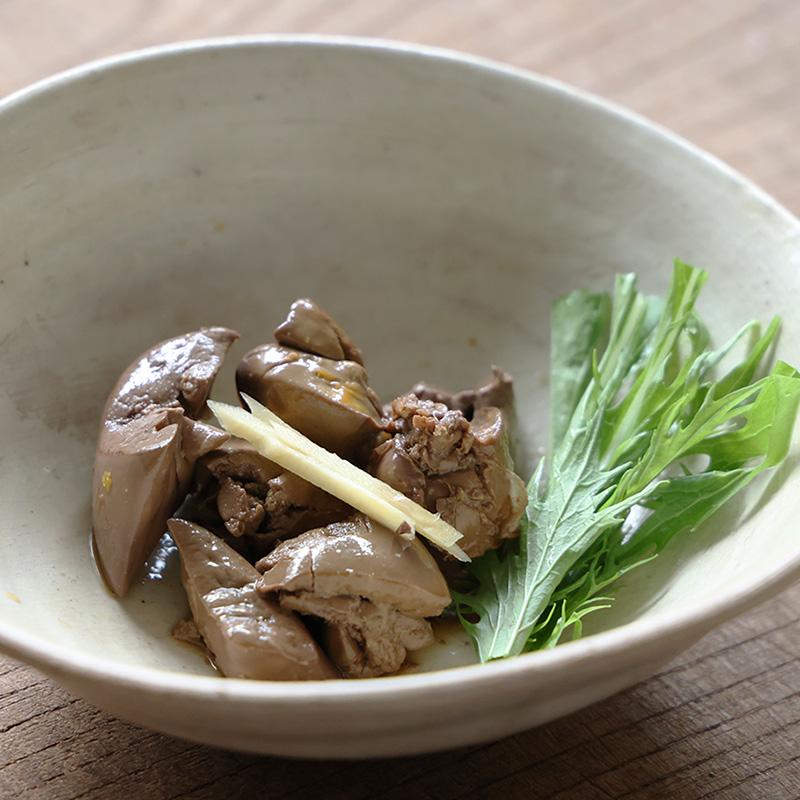 合鴨deジンジャー(合鴨の肝の生姜煮)