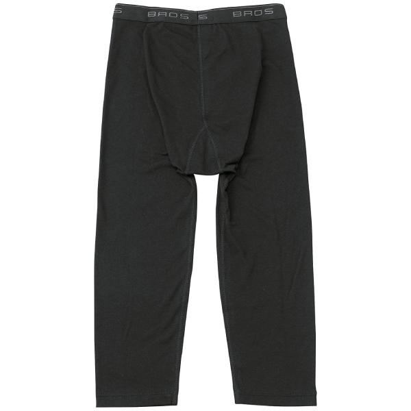 ワコール wacoal ブロス BROSメール便発送可 GS6020 保温性 ひざ下丈パンツ 前開きタイプ (男性用/メンズ) MLサイズ