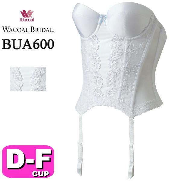 ワコール/wacoal ブライダル/bridal BUA600 ロングラインタイプ 1/2カップブラ DEFカップ