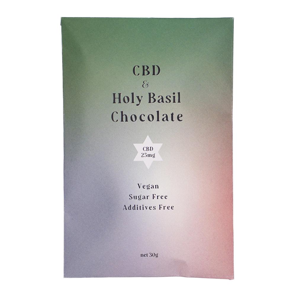 CBDチョコレート Holy Basil CBD25mg