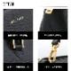 [大特価]RODTNES Falda Bag [デンマーク製] ハンドバッグ [2wayショルダー付き] Black