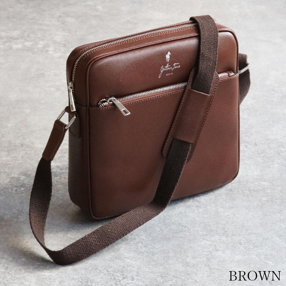 GENTLEMAN FARMER PB100 Leather men's bag [Italy] ショルダーバッグ