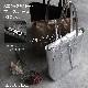 [3Color][ファスナー開閉] andrea cardone 2065/m1 Leather bag sfoderata metal M [イタリア製] トートバッグ-M
