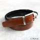 [2way]OROBIANCO BELT COWHIDE IGOR D.FACE NERO/COGNAC [イタリア製] ベルト