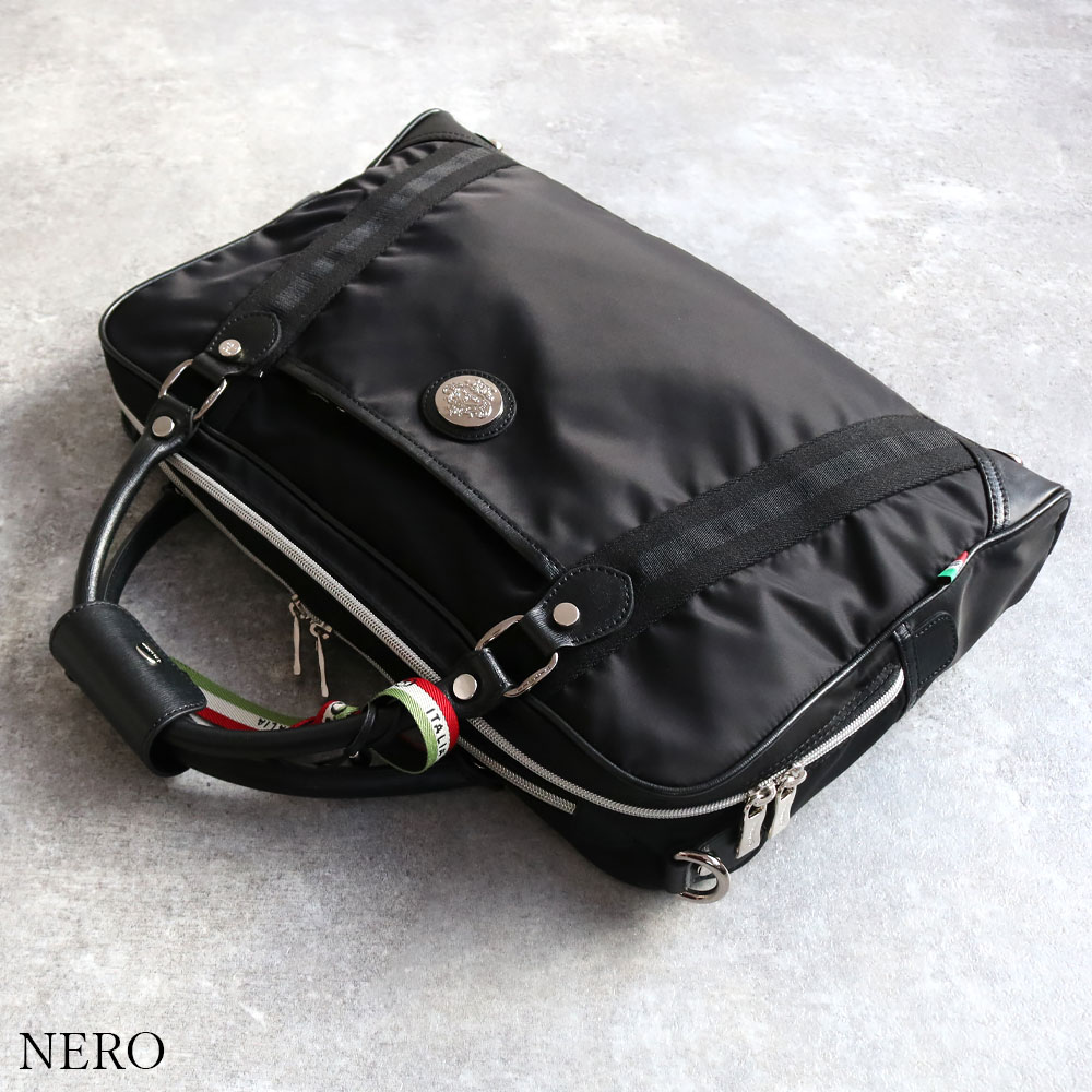 OROBIANCO DENVER PIU TT-C NYLON SAFFIANO 3way [イタリア製] ブリーフケース 2Color