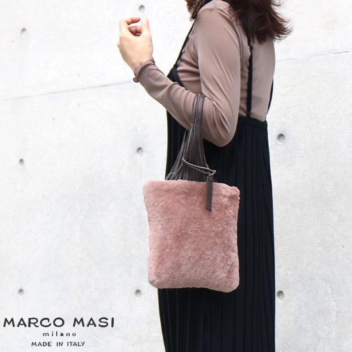 MARCO MASI MILANO 3038 MONTONE 並行輸入品 [イタリア製] ファーバッグ