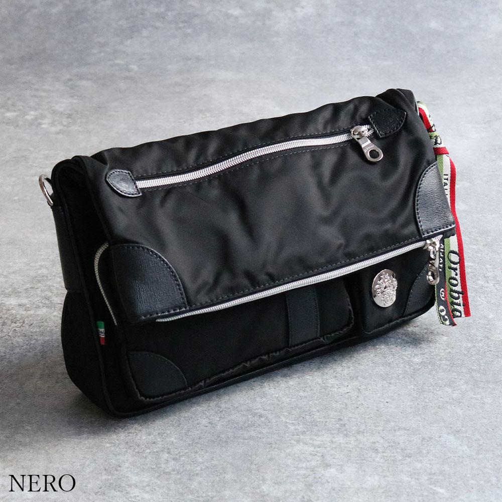 OROBIANCO CAMELOT-B NYLON SAFFIANO [並行輸入品] ショルダーバッグ [イタリア製]