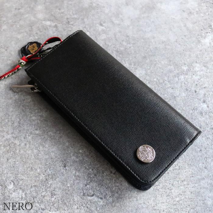 OROBIANCO GIRAFFA RI-F SAFFIANO OLI-ZEUS [別注モデル] 並行輸入品 [イタリア製] 財布