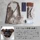 MARLON BS0784 BORSA ART MINI GISELLE LAMINATO [イタリア製] ハンドバッグ 3Color