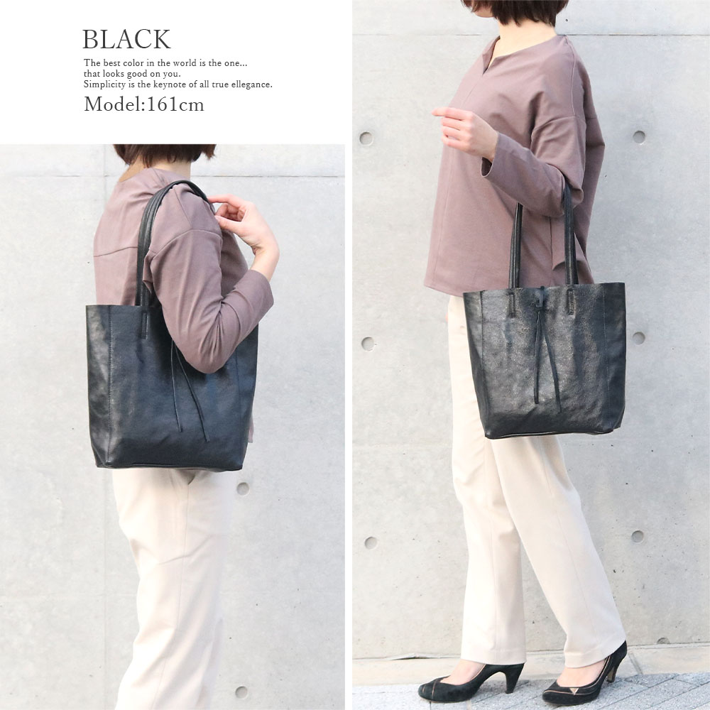 [特別価格] andorea cardone 2065/m1 Leather bag sfoderata metal M 並行輸入品 [イタリア製] トートバッグ-M