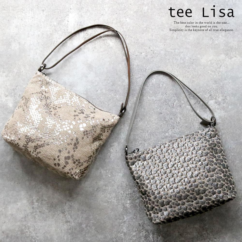 tee Lisa COWLMB-MINILA LP [イタリア製] トート/ショルダーバッグ [2way]