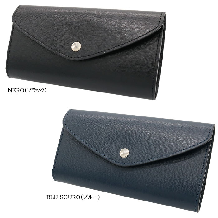 andorea cardone M412 Saffiano [イタリア製] 長財布