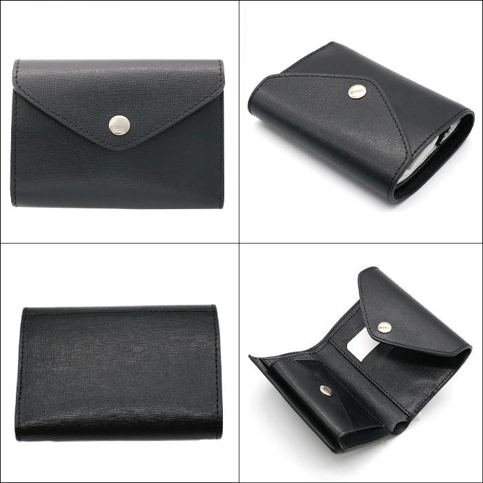 andorea cardone M413 Saffiano [イタリア製] 折り畳み財布