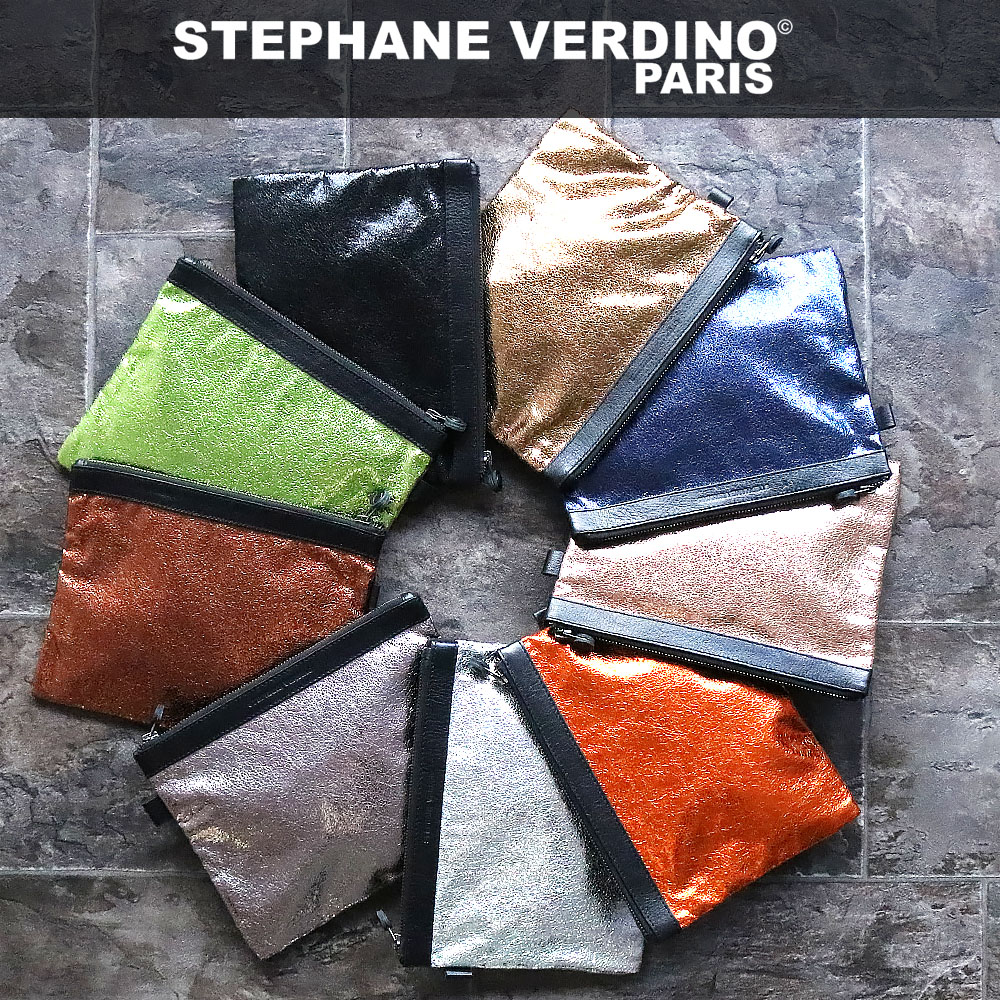 STEPHANE VERDINO LIGHT POCHETTE-L [フランス製] ポーチ-L