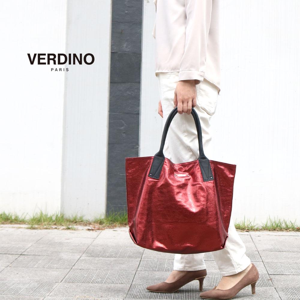 [2Colors]VERDINO Light Cabas-M [フランス製] トートバッグ-M